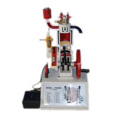 4 Stroke Petrol Engine - Sectional Working Model