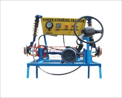 Hydraulic Power Steering System (Motorised) - Actual Working