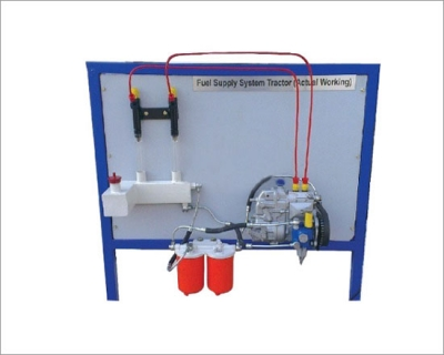 Fuel Supply System Of A 4 Cylinder Diesel Engine Actual Cut Section Model Motorised