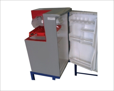 Domestic Refrigerator - (Actual Cut Section)