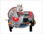2 Stroke 1 Cylinder Petrol Engine - Manual Driven