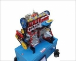 4 Stroke 4 Cylinder Diesel Engine - Motor Driven Actual Cut Section Working Model With Valve Timing